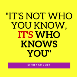 It's Not WhoYou KnowIt's WHO KNOWsYOU(1)